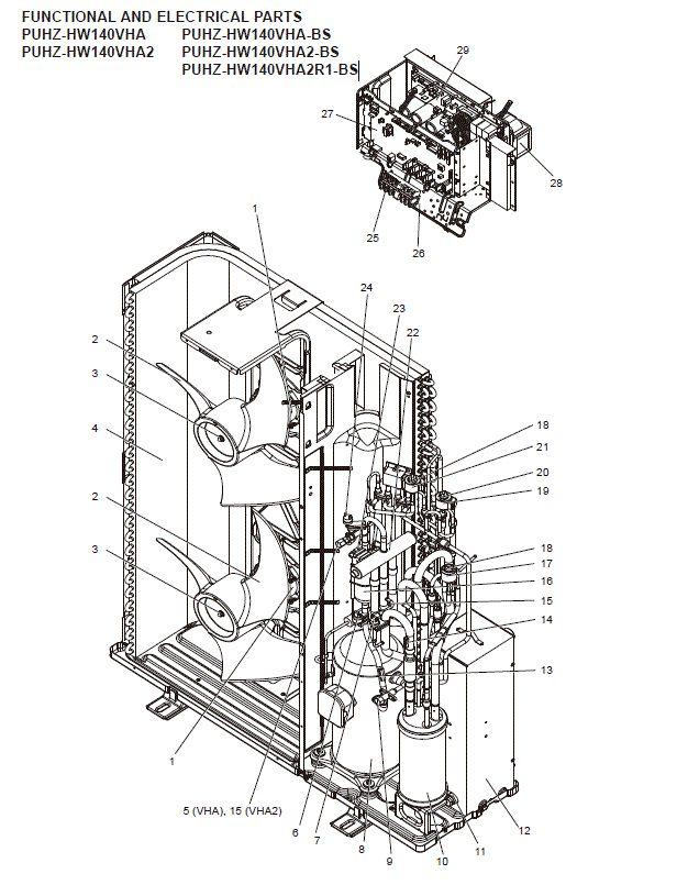 Mitsubishi Electric Air Conditioning Spare Ecodan